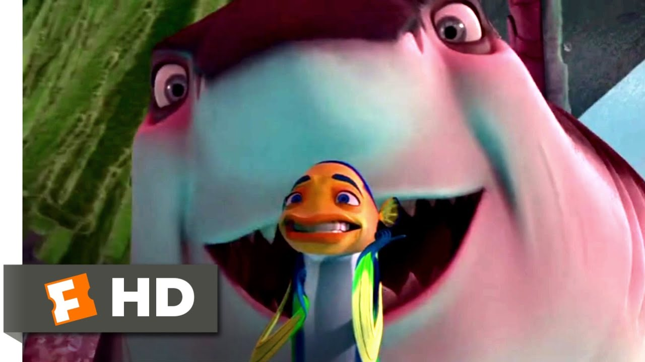 Shark Tale 2004 Gangster Shark Chase Scene 9 10 Movieclips Youtube