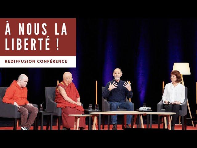 Etre libre, le grand chantier de l'existence (Avec C. André, A. Jollien et M. Ricard)