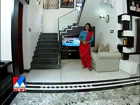 Contemporary home at poonthoppu alappuzha manorama news for Veedu interior designs