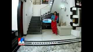 Contemporary home at  Poonthoppu Alappuzha- Manorama News