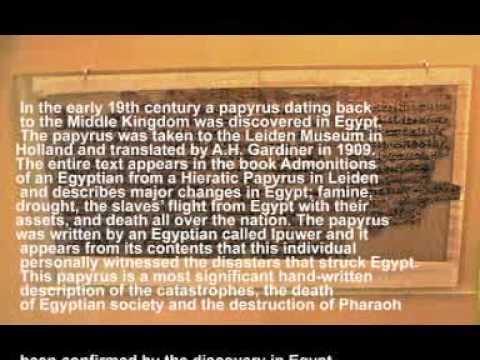 ipuwer papyrus dating