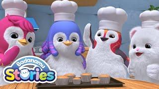 S1 EP03 Cupcake Colors l Badanamu Stories l Nursery Rhymes & Kids Songs