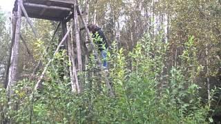 Soviet's watchtower on the border zone.(, 2013-09-25T22:52:10.000Z)
