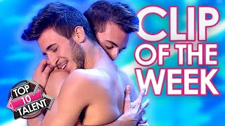 STUNNING Dance Duo Perform A POWERFUL Story On Italy's Got Talent!