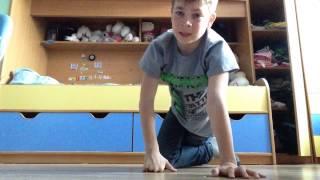 Видеоурок(как правильно отжиматься на руках)