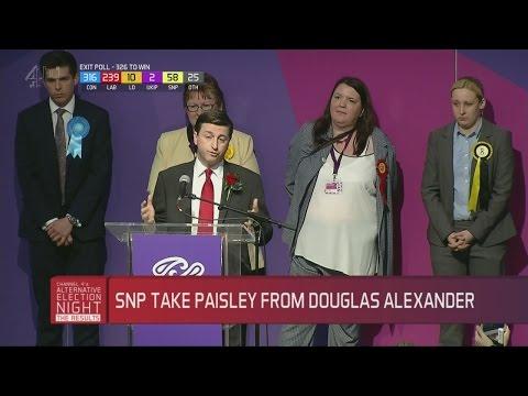 Mhairi Black defeats Douglas Alexander: 'Our responsibility to rebuild'