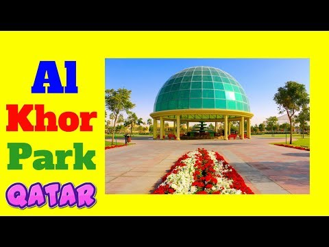 Al khor park Qatar visit alkhor zoo with animals. best children play area top picnic places Doha