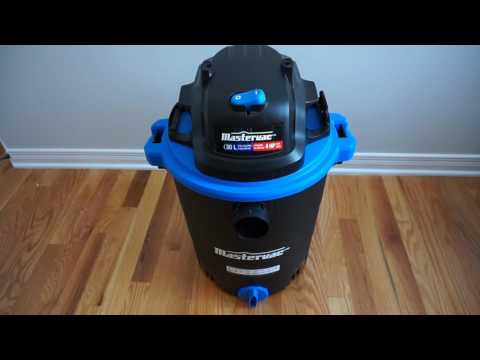 Mastervac 30L Wet / Dry Vac Unboxing & Review
