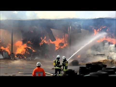 Scheunenbrand in Hepstedt 26-07-2015