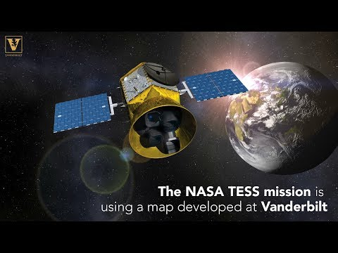 NASA's TESS mission to discover new worlds will use a map developed at Vanderbilt
