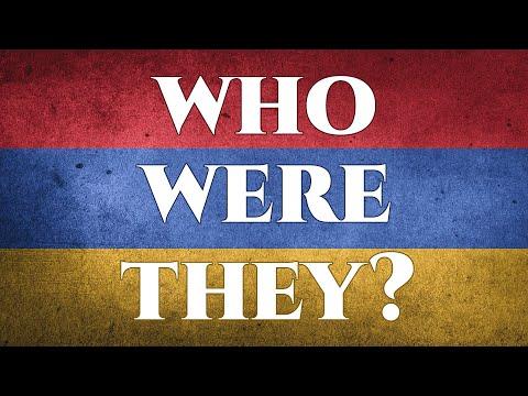 The Earliest Armenians
