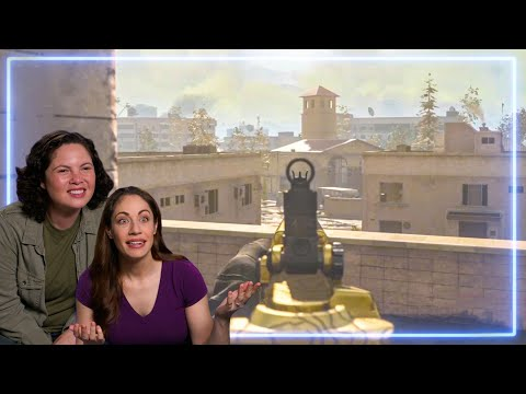 Female Marines REACT to Call of Duty: Warzone  Experts React