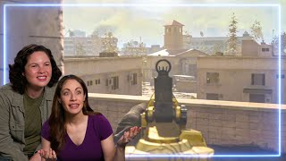 Female Marines REACT to Call of Duty: Warzone | Experts React