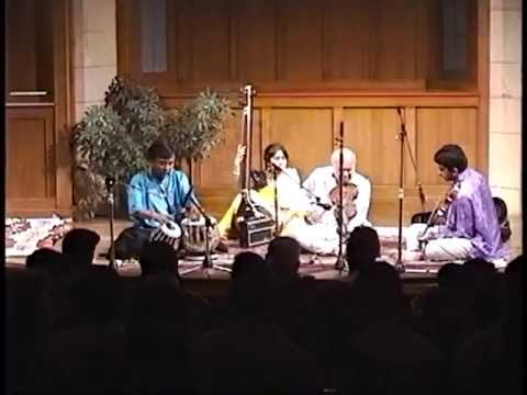 Pandit V. G. Jog playing Raag Adana