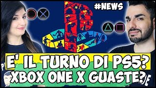 DOPO XBOX ONE X, TOCCA A PS5? + PRIMI GUASTI PER XBOX ONE X #NEWS