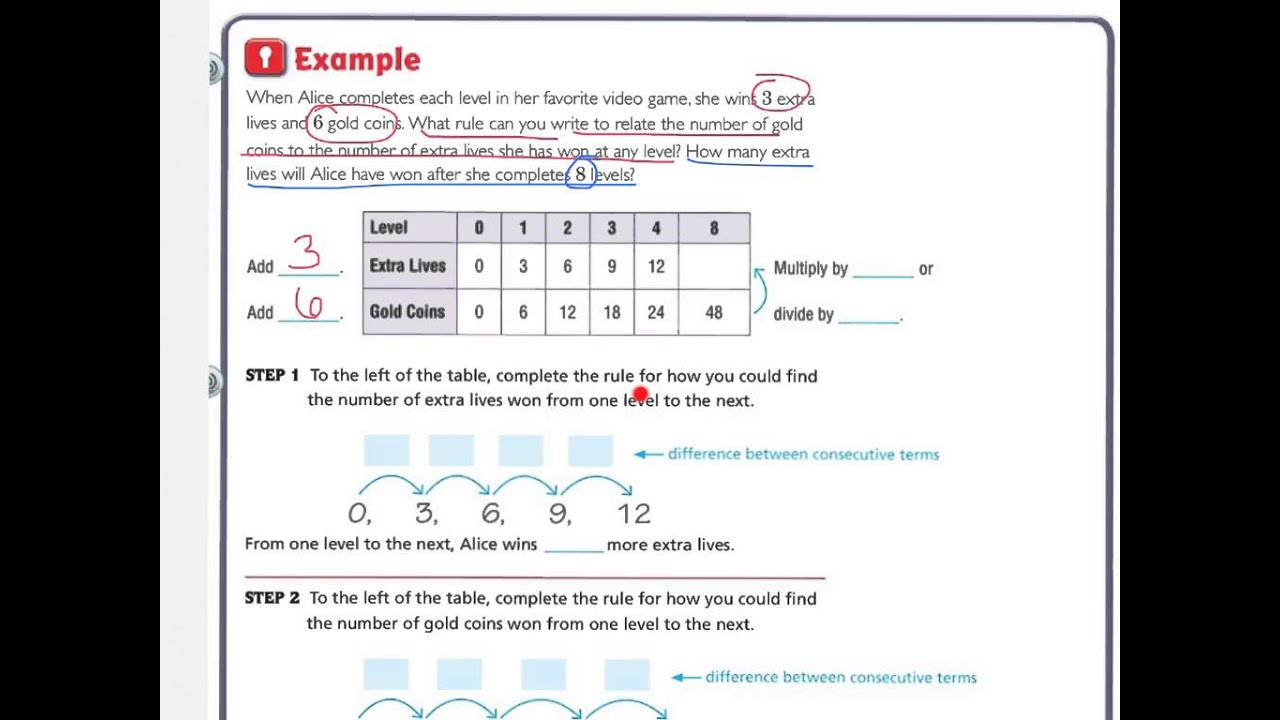 Workbooks envision math workbook grade 5 answers : 5th Go Math 9.5 - YouTube