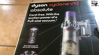 4K | DYSON V10 absolute - Männer Staubsauger - Men Vacuum Cleaner