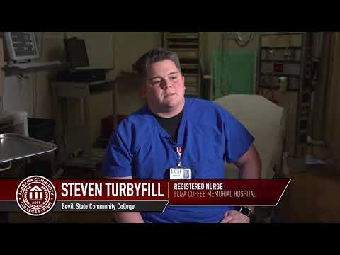 Marine Corps veteran finds support he needed for nursing degree at Bevill State Community College