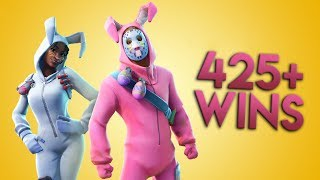 "WE'RE PLAYING WITH YOU, BACK TO ""BUNNY"" SKINS//BALKAN FORTNITE//425 - WINS, 70 - LEVEL"