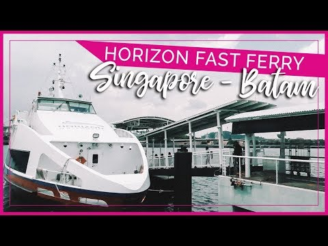 Horizon Fast Ferry Business & VIP Class | Singapore Harbour Front To Batam Harbour Bay