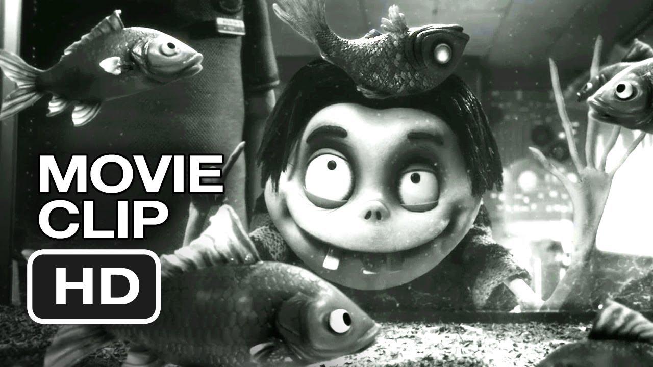 Frankenweenie Movie Clip Dead Fish 2012 Tim Burton Animated Movie Hd Youtube