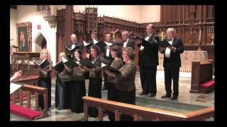Erie Renaissance Singers Lo, how a rose e'er blooming Distler HD