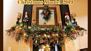 CHRISTMAS MANTEL 2019 - COLLABORATION WITH LIZ ~ TRADITIONS BY THE SEASONS - DECORATE WITH ME