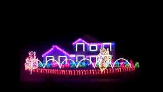 dubstep christmas lights 2012 skrillex bangarang
