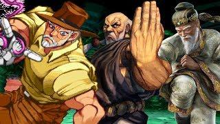 Top Ten Senior Citizens in Fighting Games