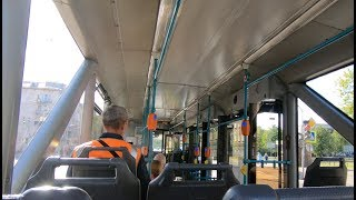 Смотреть видео Санкт-Петербург, маршрут 45: 71-153 (ЛМ-2008), №1403 онлайн