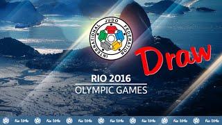 Olympic Games Rio de Janeiro 2016 - Judo Draw