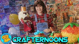 Make Your Own Wumpa Fruit Piñata! | Crafternoons