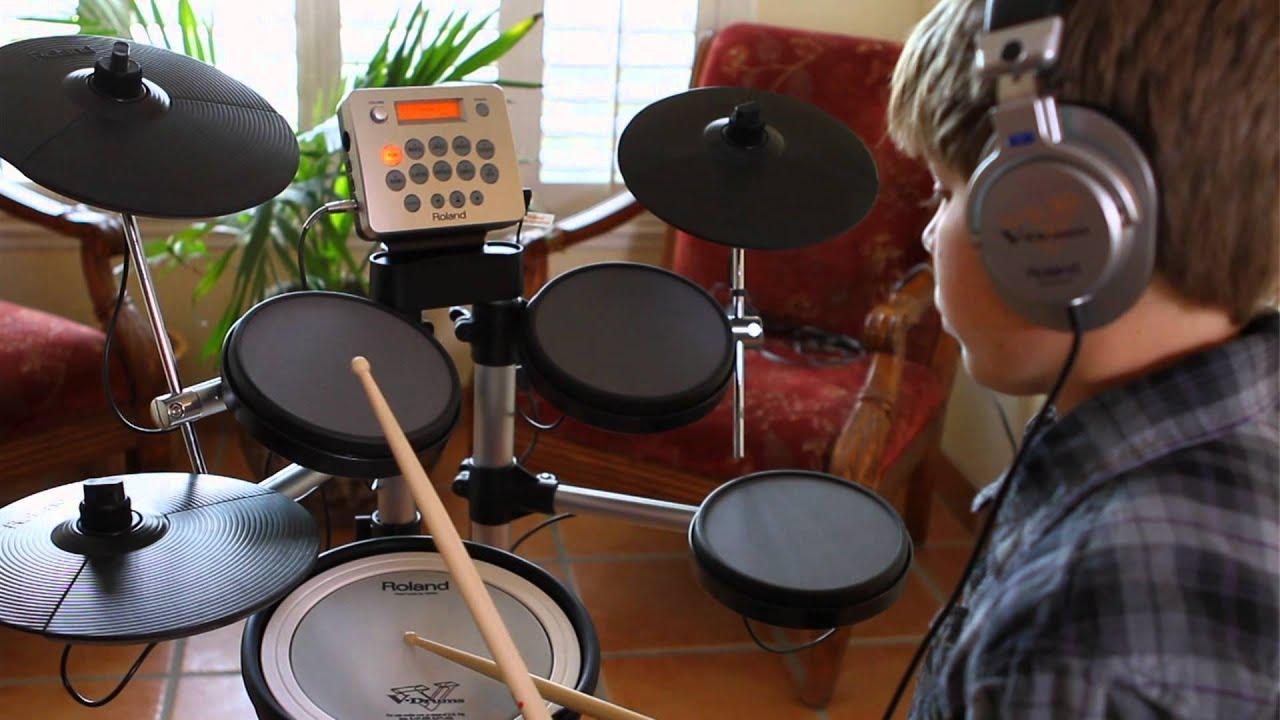roland hd 3 v drums lite intro youtube. Black Bedroom Furniture Sets. Home Design Ideas
