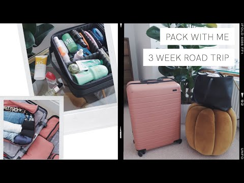 Pack With Me: 3 Week California Road Trip   The Anna Edit