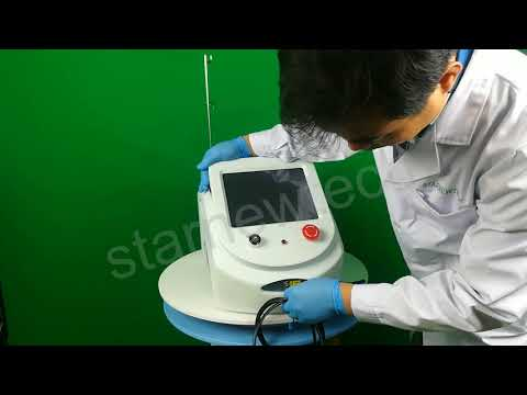 Starnewtech the newest product 4 in 1 980nm diode laser machine