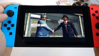 L.A. Noire - Nintendo Switch - presentation, unboxing game card and gameplay