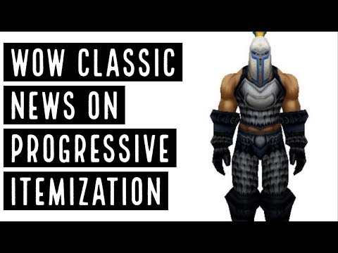 Classic WoW News - Progressive Itemization Chat With Nano (Nostalrius) & More - Countdown To Classic