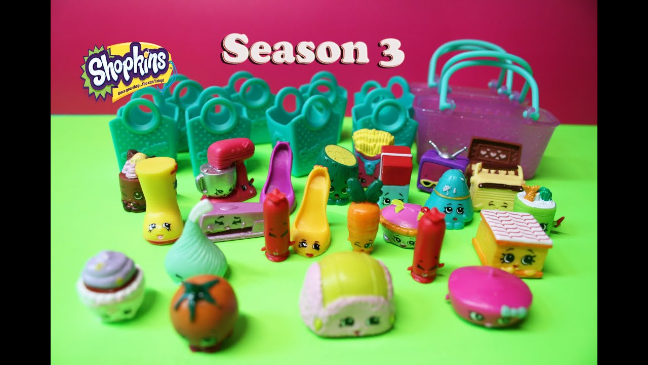 NEW 12 pack of Shopkin Season 3 Special Edition Polished