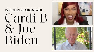 Cardi B Talks Police Brutality, COVID-19, and the 2020 Election with Joe Biden | ELLE