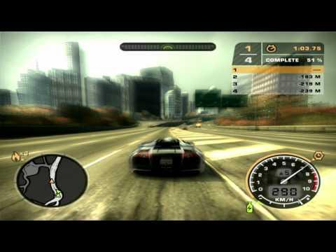 Need For Speed Most Wanted: Lamborghini Murcielago Race