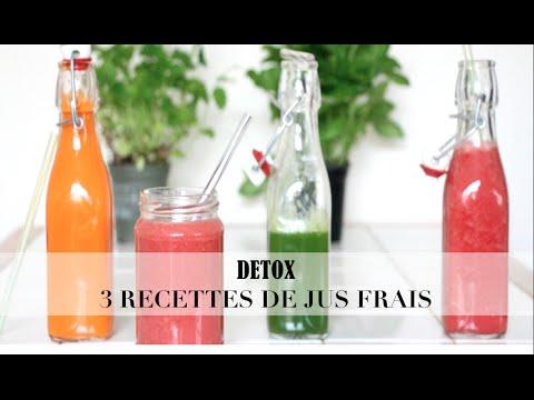 detox 3 recettes de jus verts healthy green juice recipe youtube. Black Bedroom Furniture Sets. Home Design Ideas