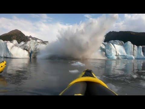 شاهد: مغامرون ينجون من خطر انهيارات جليدية  - نشر قبل 5 ساعة