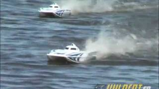 AquaCraft Wildcat Catamaran Brushless 2.4GHz RTR Video