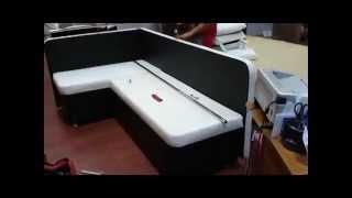 видео Угловой диван со спальным местом купить недорого в интернет магазине