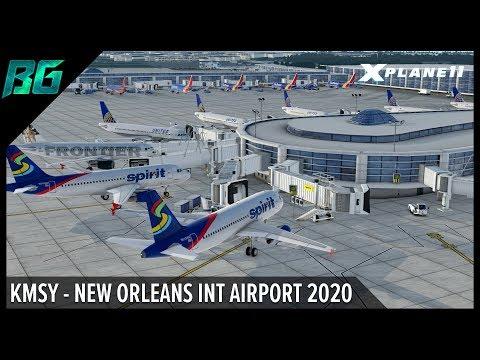 KMSY - New Orleans International Airport 2020 By Verticalsim | X-Plane 11