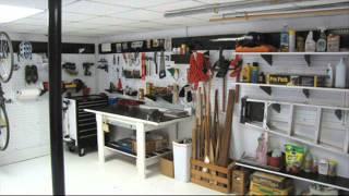 Wall Control Master Workbench Metal Pegboard Tool Organizer; garage pegboard ideas