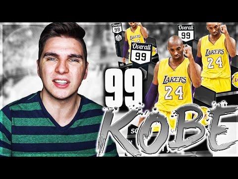 99 KOBE BRYANT IS UNSTOPPABLE!! NBA 2K17 MYTEAM GAMEPLAY