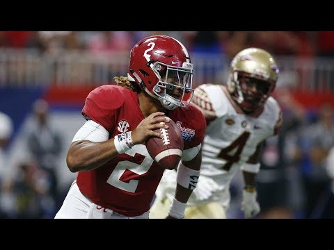 Jalen Hurts Highlights vs. Florida State (2017)