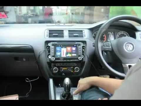 vw jetta mk upgraded  reverse camera steering guided intelligent parking system youtube