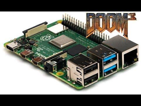 DOOM 3 on Raspberry Pi 4 !! read description